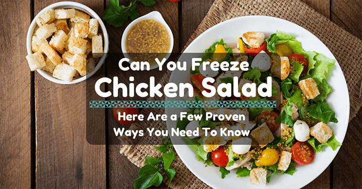 Can You Freeze Chicken Salad A Few Proven Ways You Need To Know