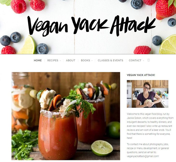 Top 54 vegetarian and vegan blogs you should follow now taste insight well it can be a long way to ultimately fulfill every known recipe her sparkling character and her quirky style of cooking forumfinder Gallery