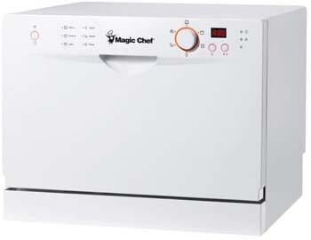 MAGIC CHEF CSCD6W3 – 6 PLACE SETTING COUNTERTOP DISHWASHER