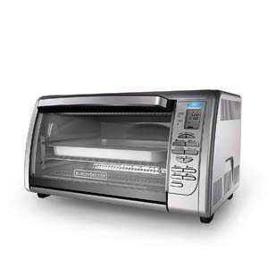 1. BLACK+DECKER Countertop Convection Toaster Oven