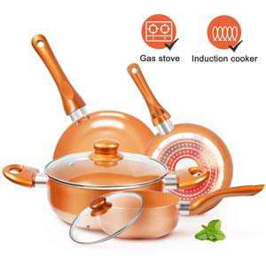 KUTIME Nonstick Cookware-Set