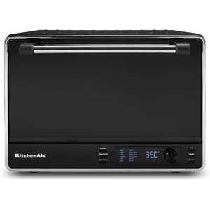 3. KitchenAid KCO255BM Dual Convection Countertop Toaster Oven