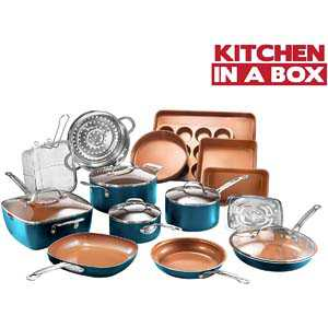 Gotham Steel Cookware + Bakeware Set